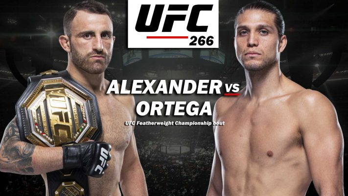 HOW TO WATCH UFC 266